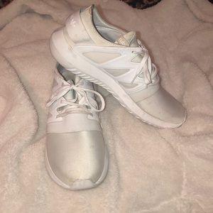 Adidas white tubular
